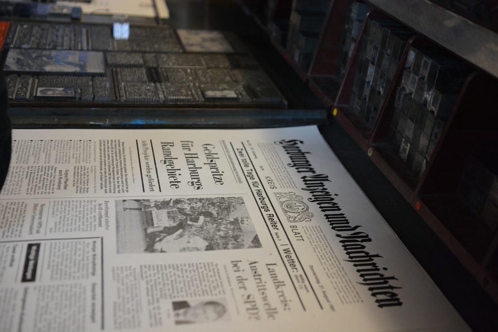 Druckerei im Wandel der Zeit